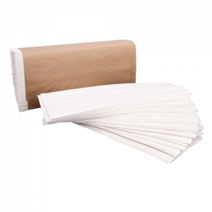 Right Choice White C-Fold Towel